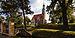 PL-DS, pow. wrocławski, gm. Żórawina, Żórawina, ul. Niepodległości; Zespół kościoła par. pw. Św. Trójcy- Kościół par. p.w. Św. Trójcy, Pozostałości fortyfikacji ziemnych; A-1252-88, A-1020; 02.jpg