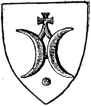 Clan Ostoja - Seal of Dobiesław z Koszyc of Ostoja, 1381