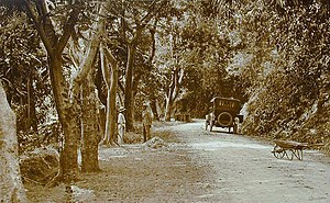 Puerto Rico Highway 10 - The Ponce–Adjuntas Road in Ponce circa 1920, now a section of PR-123 that is bypassed by PR-10