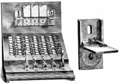 PSM V70 D239 Snell telephone swithboard and dropjack contact plate.png
