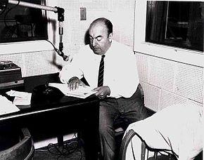 Neruda nella sede della Biblioteca del Congresso, 1966