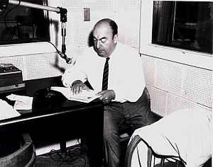 Chilean literature - Chilean Nobel Prize winner Pablo Neruda