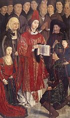 Painel dos Infantes Nuno Gonçalves circa 1460