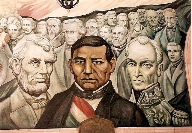 File wikimedia commons for Benito juarez mural