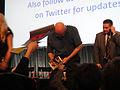 PaleyFest 2011 - The Walking Dead panel - director Frank Darabont signs for fans (5499989411).jpg