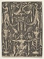 Panel with a Candelabrum Containing a Female Satyr Seated on a Helmet MET DP836778.jpg