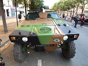 Panhard VBL (Vèhicule Blindé Legér), French army licence registration '6924 0051' pic4.JPG