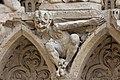 Paris - Cathédrale Notre-Dame - Portail de la Vierge - PA00086250 - 031.jpg