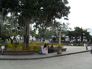 Puente Nacional, Santander Municipality and town in Santander Department, Colombia