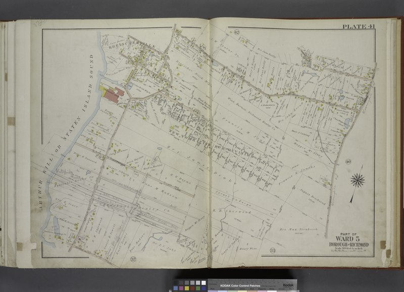File:Part of Ward 5. (Map bound by Winant PL, Arthur Kill Road (Fresh Kills RD), Sharrotts Road, Bogardus Ave, Pleasant Ave, Rossville Road, Richmond Valley Road, Arthur Kill or Staten Island NYPL1646308.tiff