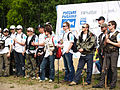 Participants in the tournament 'Russian Fishing' Trout Trophu IV.jpg