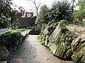 Path towards the steps down to the pavement, Oldway mansion - geograph.org.uk - 696626.jpg