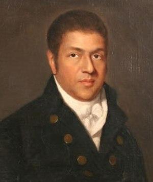 Paul Cuffee - Portrait of Paul Cuffee by Chester Harding