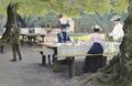 Paul Fischer - Skovtur ved Peter Lieps hus i Dyrehaven - 1904.png