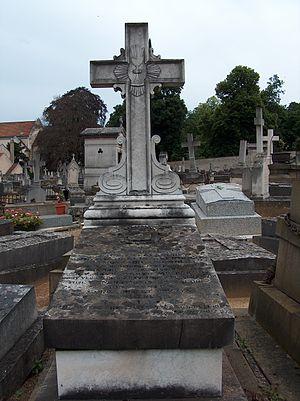 Cemetery of Saint-Louis, Versailles - Tomb of the Abbé de Geslin