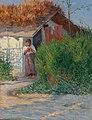 Peasant Girl, Transylvania by Sandor Leopold Landeau, 1894.jpg