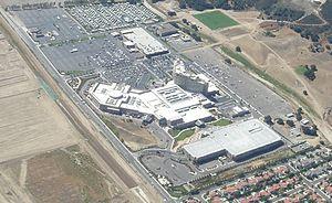 Pechanga Resort and Casino - Aerial view of the Pechanga Resort and Casino, gas station and RV park