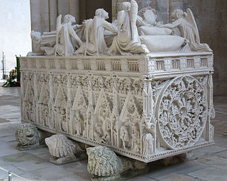 Alcobaça Monastery - Tomb of King Pedro I.