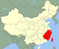 Pelophylax fukienensis map.png