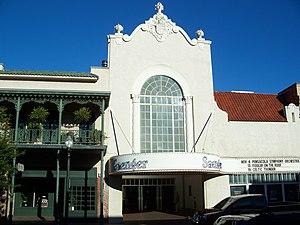 Saenger Theatre (Pensacola, Florida) - Image: Pensacola Saenger Thtr 01
