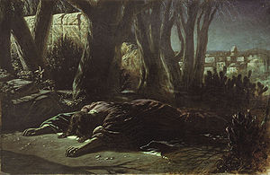 Mark 14 - Gethsemane by Wassilij Grigorjewitsch Perow