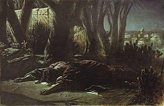 Mark 14 - Gethsemane by Wassilij Grigorjewitsch Perow