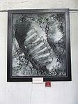 Petőfi Csarnok, Repüléstörténeti kiállítás, Edwin Aldrin lábnyoma a Holdon.JPG