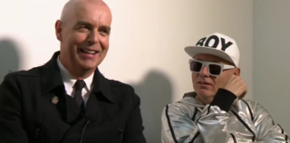 Pet Shop Boys English synthpop duo