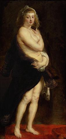 Шубка. Около 1636—1638 года, масло, холст. 176 × 83 см. Вена, Музей истории искусств