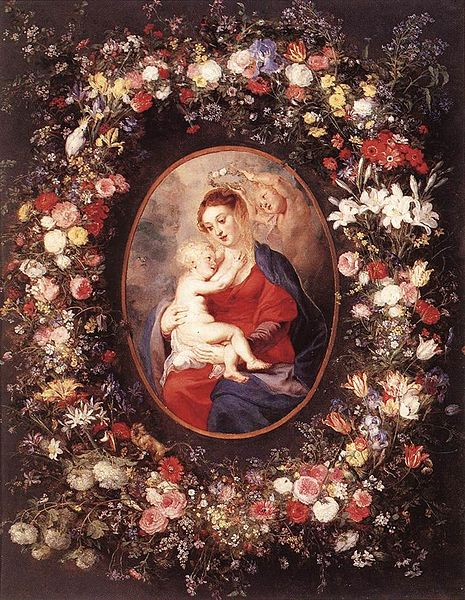 File:Peter Paul Rubens - The Virgin and Child in a Garland of Flowers - WGA20240.jpg