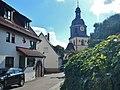 Peterskirche, 1147 erstmals urkundlich erwähnt. Die evangelische Pfarrkirche ist eine Chorturmanlage des 13.-14. Jahrhunderts, die 1756 und 1776 mit dem Kirchturm ihr jetziges Aussehen erhielt. - panoramio.jpg