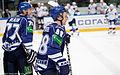 Petružálek and Bilalov 2011-12-04 Amur-Sibir KHL-game.jpeg