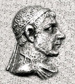 Peukolaos Indo-Greek king