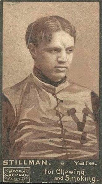 1894 College Football All-America Team - Phillip Stillman of Yale