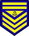 Philippine Coast Guard Petty Officer 1st Class Rank Insignia