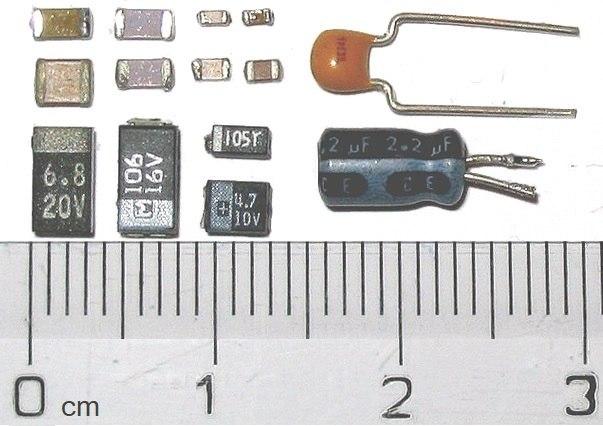 Photo-SMDcapacitors
