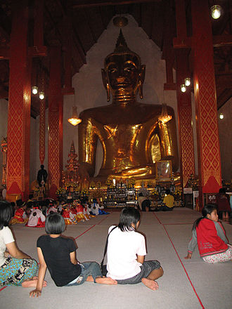 Phayao Province - Phra Chao Ton Luang, Wat Si Khom Kham
