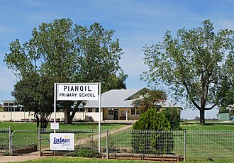 Piangil - Image: Piangil Primary School