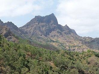 Pico de Antónia - View over Pico da Antónia