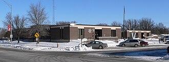 Pierce County, Nebraska - Image: Pierce County Courthouse (Nebraska) from SW