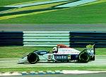 Pierluigi Martini - Minardi M194 at the 1994 British Grand Prix (32162211640).jpg