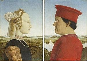 Doppio ritratto dei duchi di Urbino