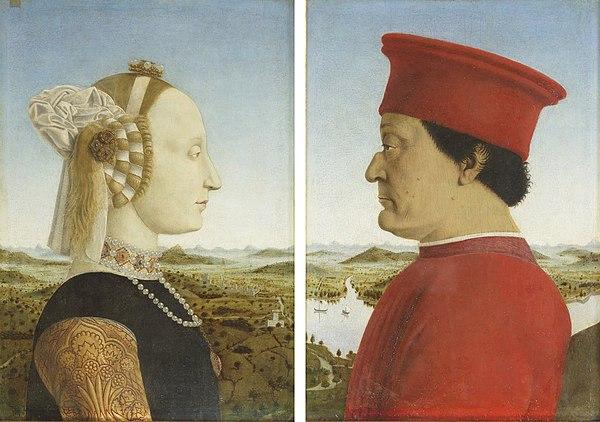 Doppio Ritratto Dei Duchi Di Urbino Wikiwand