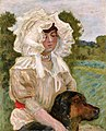 Pierre Bonnard Misia Natanson and Her Dog.jpg