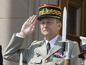 Pierre de Villiers - French Army Chief général Pierre de Villiers in 2014.