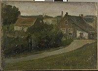 Piet Mondriaan - Country lane with houses - 0334227 - Kunstmuseum Den Haag.jpg