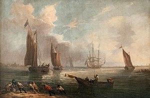 Pieter Bout - Seascape