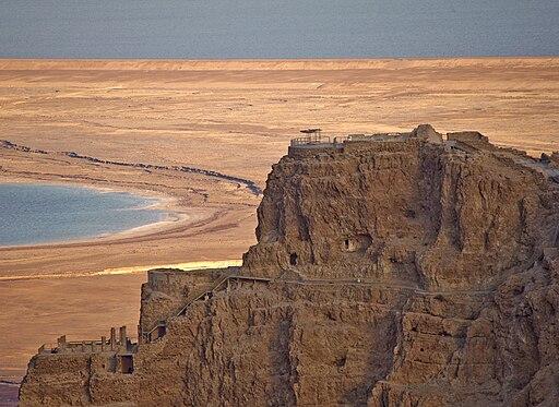 PikiWiki Israel 10475 Herod palace at Masada