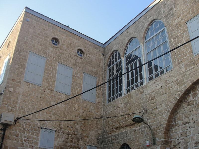 מבנה בעיר העתיקה של עכו