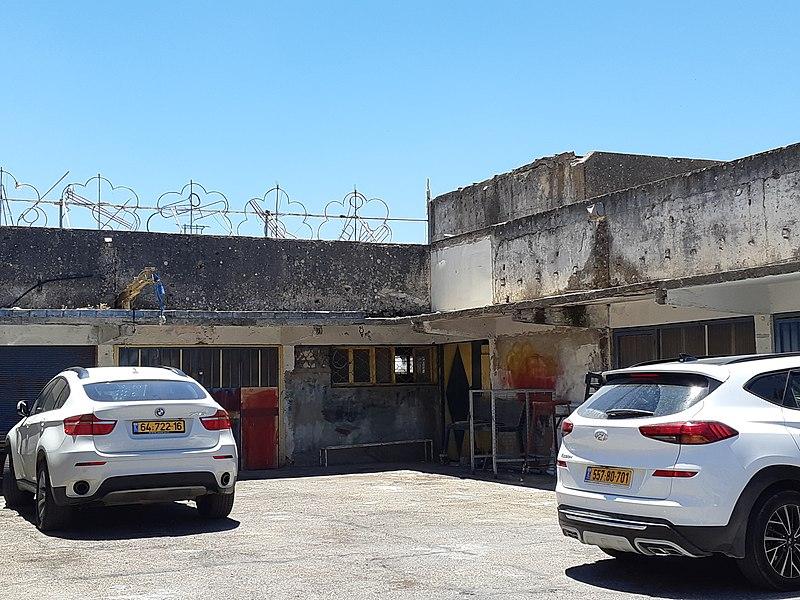 """בית אשת""""ם צפת , המרכז המסחרי הישן"""